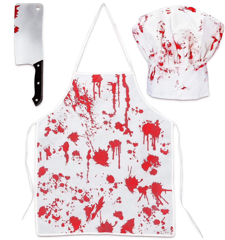 Amazon.com: Halloween Bloody Butcher Disfraces Escenario Set ...