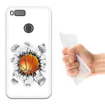 WoowCase Funda Xiaomi Mi A1, [Xiaomi Mi A1 ] Funda Silicona Gel ...