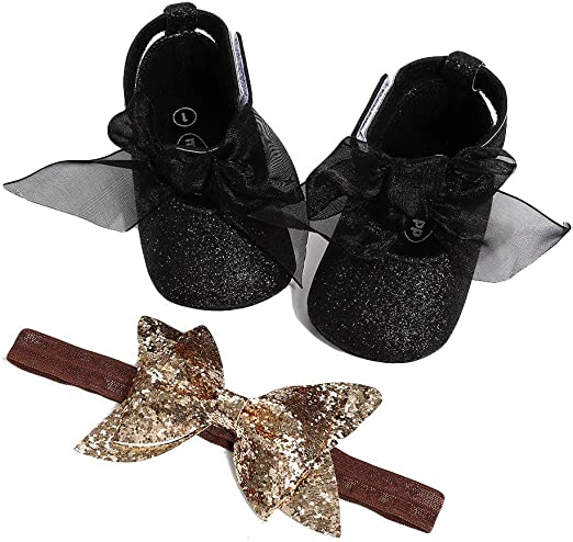 Lurryly Baby Girl Hollow Out Bowknot Shoe Casual Shoes Sneaker Anti-Slip Soft Shoes