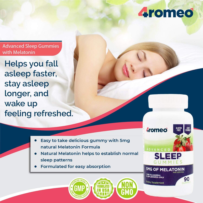 Amazon.com: Gomitas de ayuda para dormir para adultos (90 ...