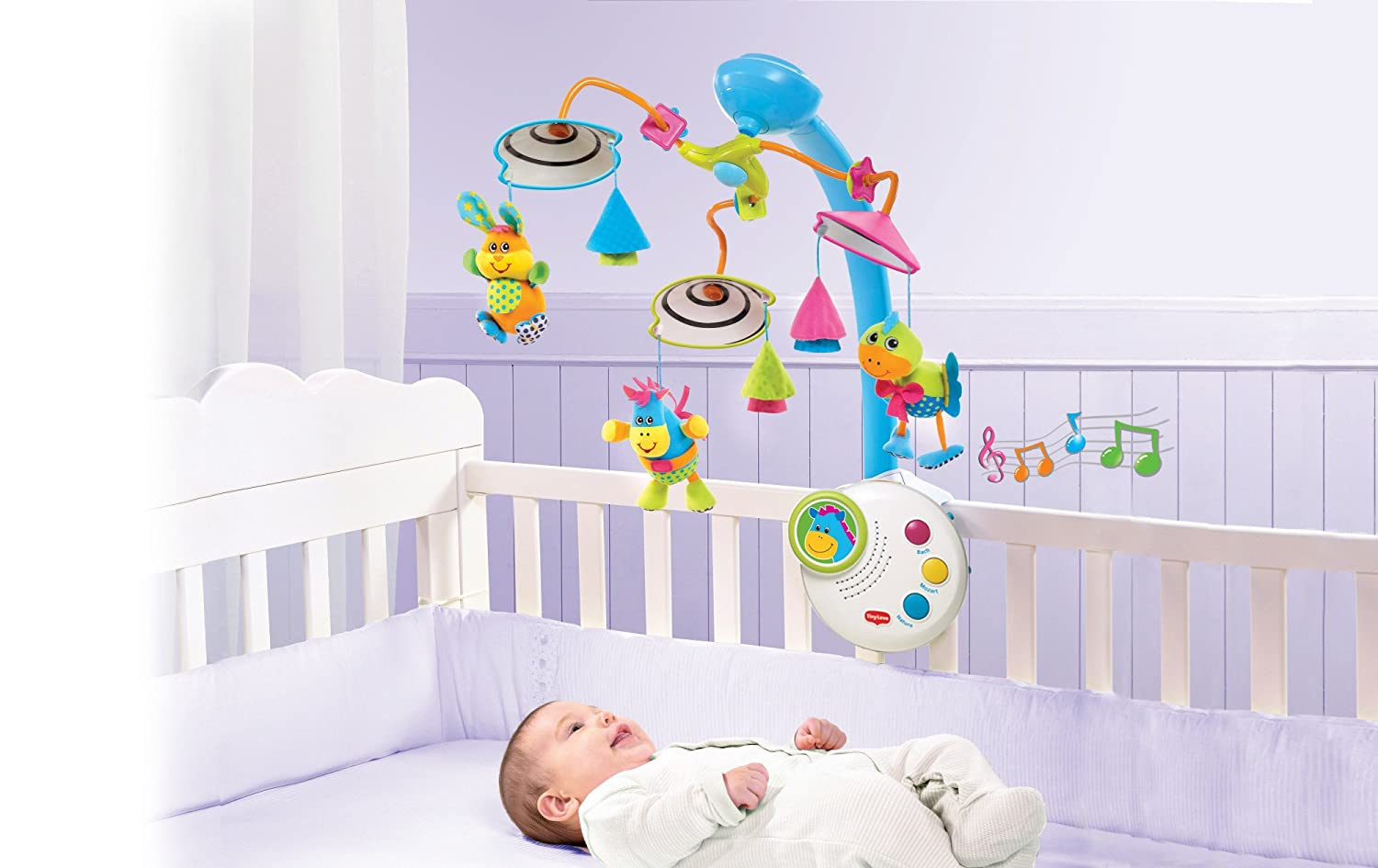 Tiny Love 3-in-1 Magical Night Musical Mobile Converts to Starry Night Lamp