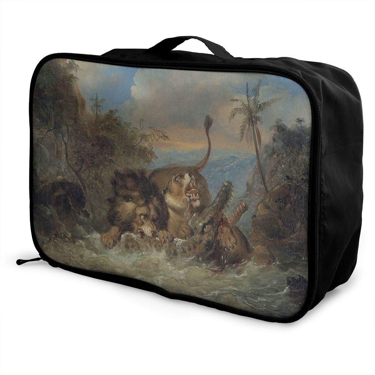 Lightweight Large Capacity Portable Duffel Bag for Men /& Women Mantis Dance Travel Duffel Bag Backpack JTRVW Luggage Bags for Travel