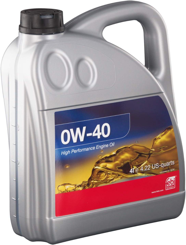 Febi Bilstein 101141 Engine Oil Sae 0w 40 4 Litres Auto