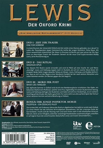 Amazoncom Lewis Der Oxford Krimi Staffel 9 Pilotfilm