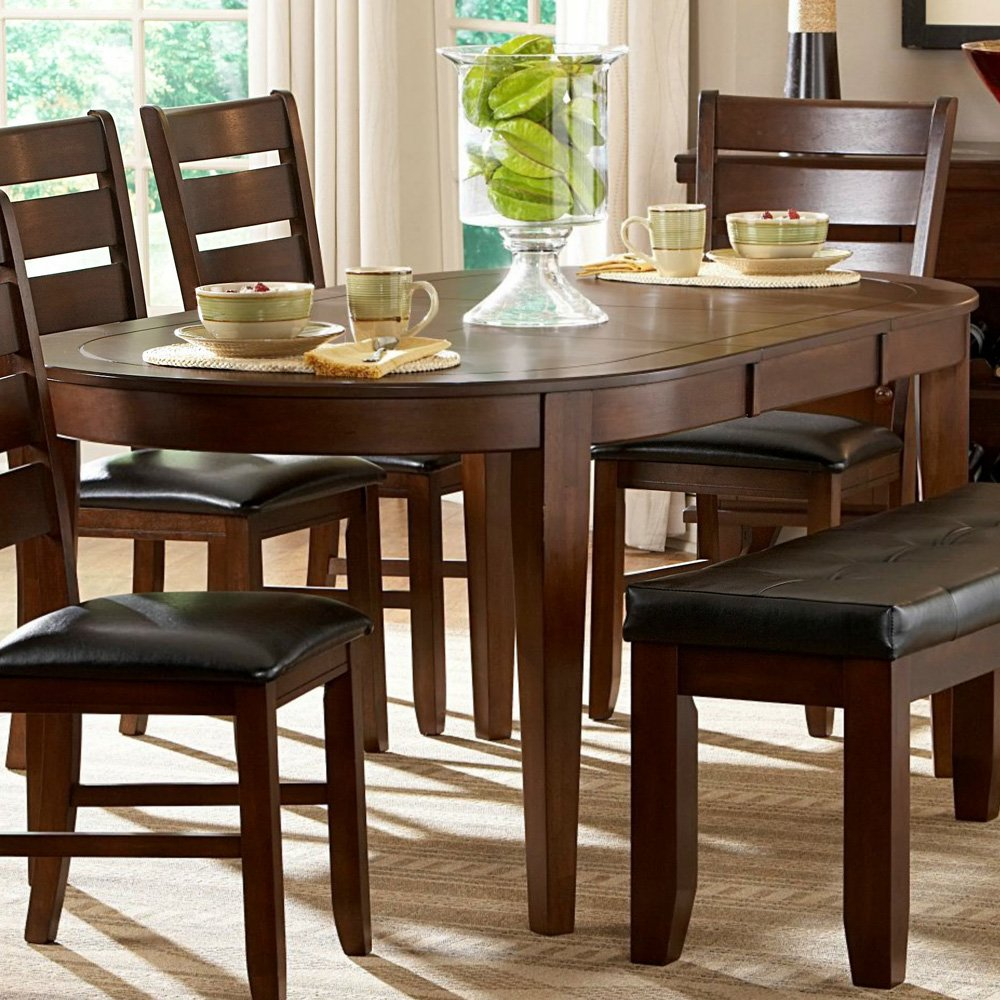 Great Amazon.com   Homelegance Ameillia Butterfly Leaf Oval Dining Room Table    Tables