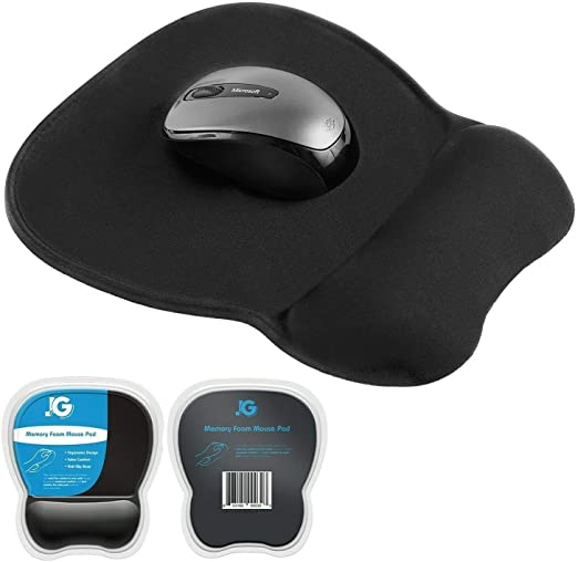 Protect your wrist !Mouse Pad Comfortable and Durable With Ergonomic Wrist Support made of   Leather .Great gift for friends Work on PC