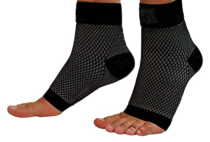 009685e6c5 Compression Foot Sleeves, Plantar Fasciitis Relief & Recovery Kit - Pack of  9- Foot