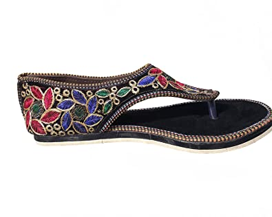 6c7c48ae9 Port Women's Rajasthani Jutti: Buy Online at Low Prices in India ...