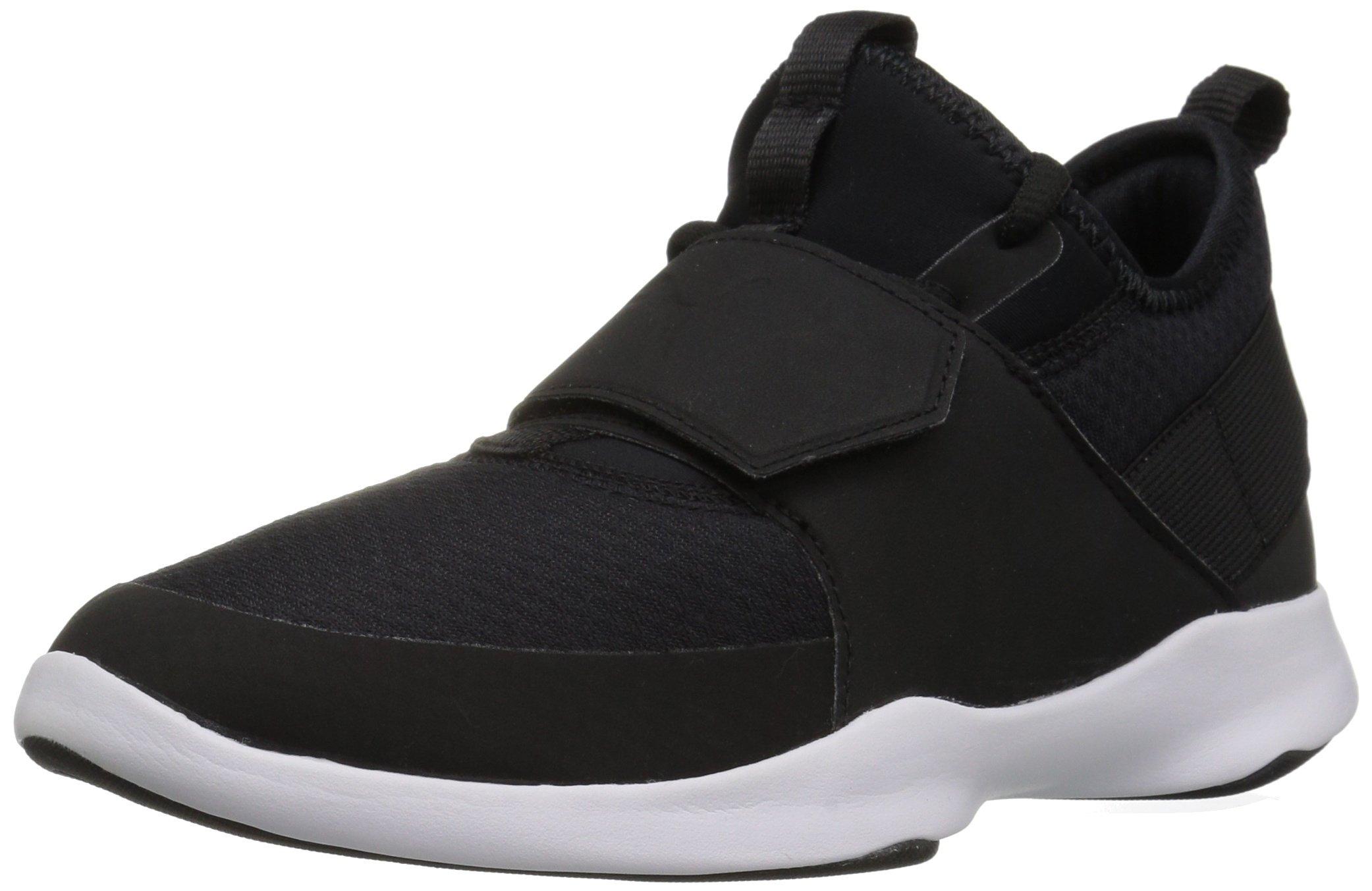 PUMA Unisex Dare Trainer Sneaker, Black Silver, 2 M US Little Kid