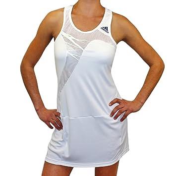 Adidas Adizero Dress – Vestido de Tenis para Mujer, Blanc - Blanc