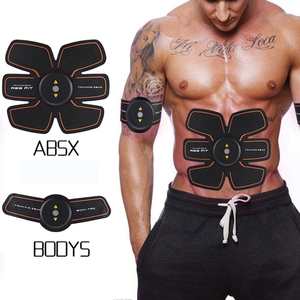 Silaitehealth Entrenador y estimulador del músculo abdominal cinturón de tonificación muscular entrenador