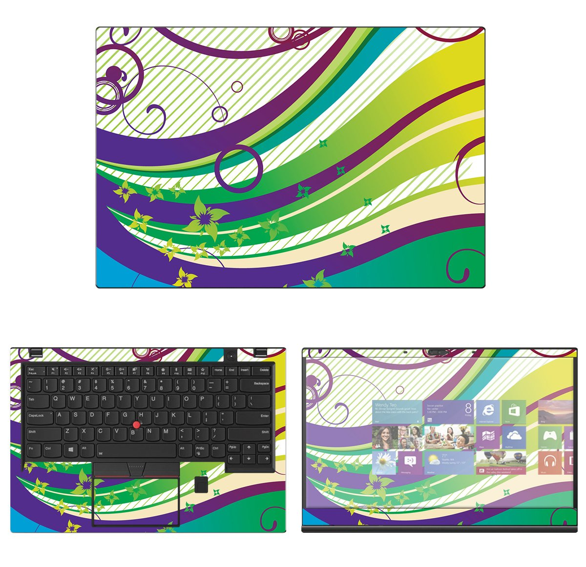 decalrus - Protective Decal Skin Sticker for Lenovo ThinkPad X1 Carbon (6th Gen.) (14'' Screen) case cover wrap LEtnkpadX1carbon6-186