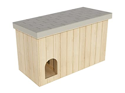 Amazon Com Dog House Plans Diy Large Outdoor Wooden Pet Shelter