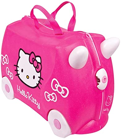 Amazon.com: Trunki: The Original Ride-On Suitcase NEW, Hello Kitty ...