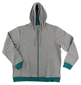 adidas Mens with Leo Messi Hooded Sweat Jacket Heather Grey