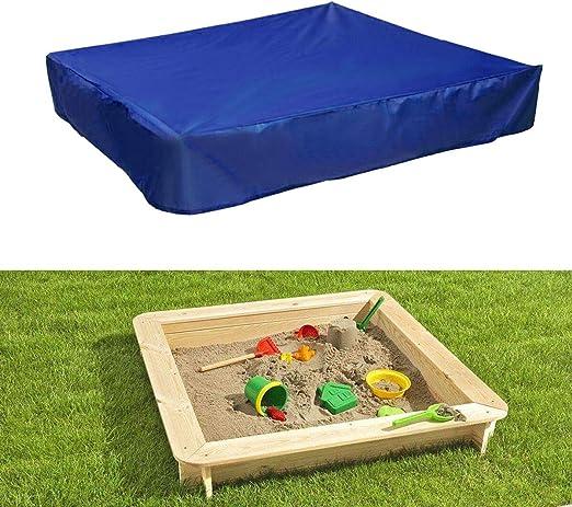 dDanke - Cubierta de Lona para Caja de Arena de jardín (95% protección contra Rayos UV, Impermeable, Rectangular): Amazon.es: Jardín
