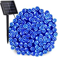 NEXVIN Guirnalda Luces Exterior Solar, Luces Navidad Azul 22M 200 LED, Cadena de Luces Solares, Luces LED Decorativas…