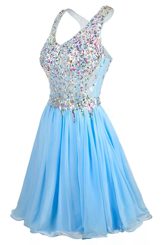 Amazon.com: LaceLady 2017 Short Prom Dresses Sexy Homecoming Dress ...