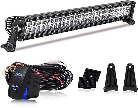 Nilight LED Light Bar 32 in 180W Spot Flood Combo Light for Truck JEEP Ford Lamp