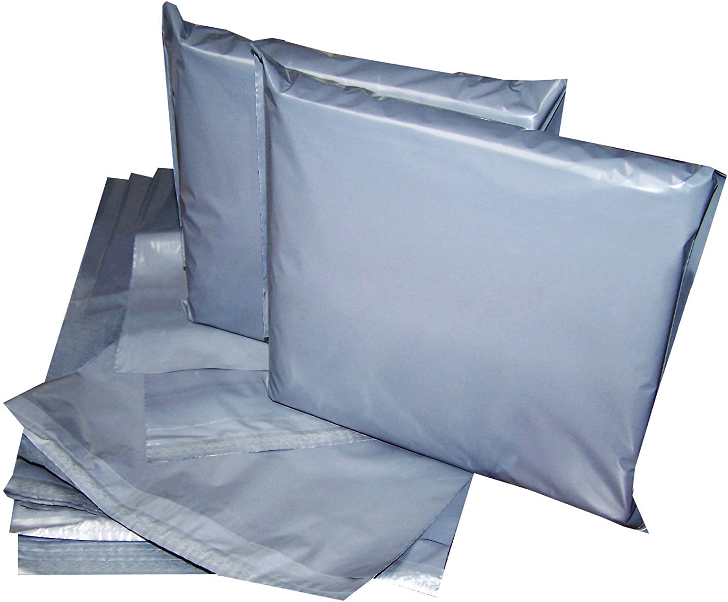50-17X24-Strong Grey Mailing Post Poly Postage Bags Self Seal Bargain Price No Smell