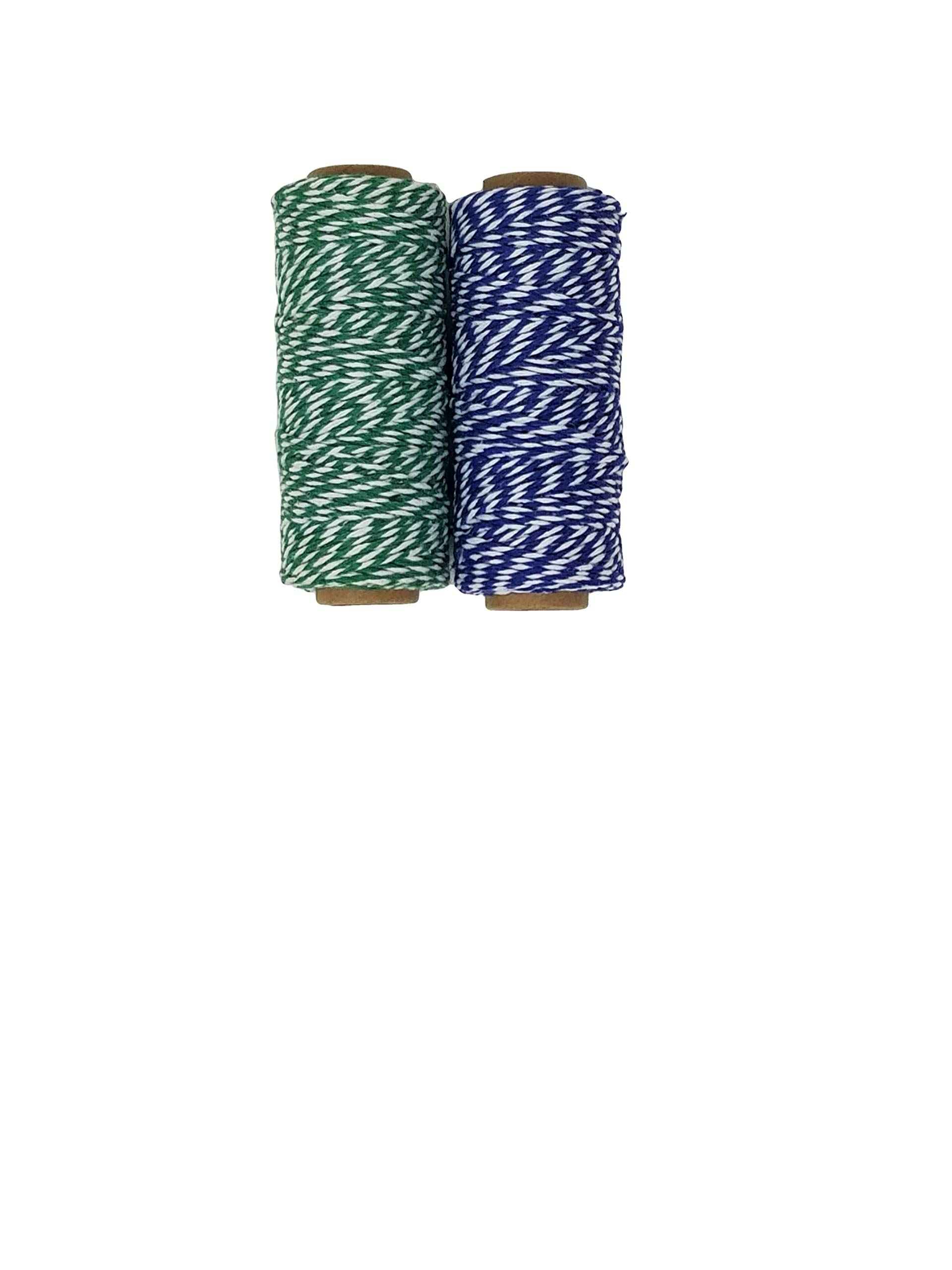 Baker\'s Twine Metallic Set with Woven-in Gold Filament, 250 Yards Total