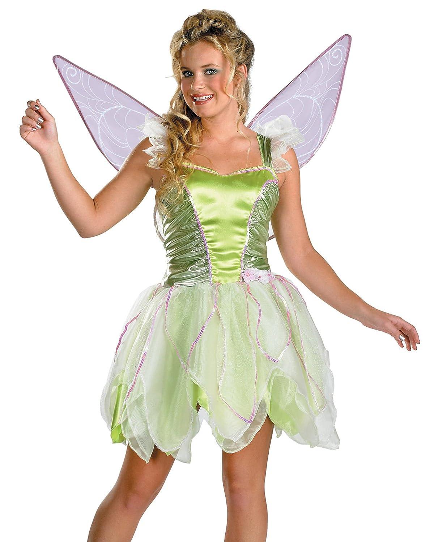amazoncom tinkerbell costume peter pan movie costume disney neverland fairytale storybook sizes one size clothing
