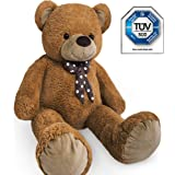 Large Teddy bear XXL kids giant teddy bears child big soft plush toys dolls teddies bear 100cm Brown