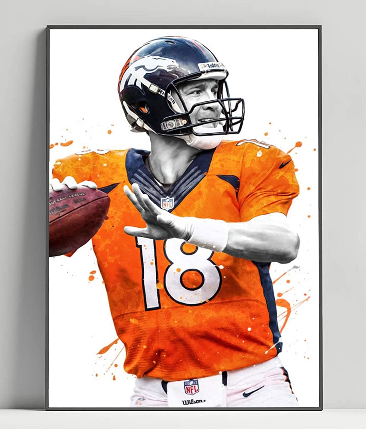 Peyton Manning 16x20 Limited Poster Artwork