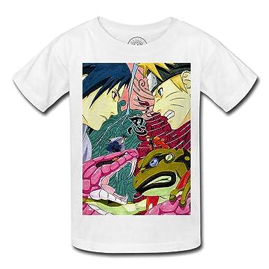 T-Shirt Enfant Uzumaki Naruto Sasuke Uchiha Serpents contre ...