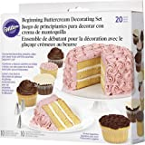 Wilton 20-Piece Buttercream Basics Decorating Set, Cake Decorating Supplies