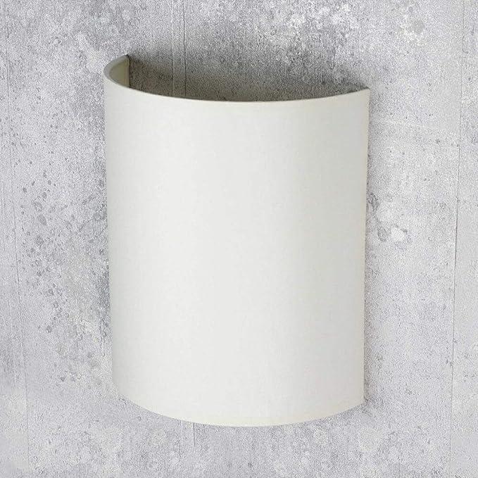Applique loftin stile modernocremaparalume in tessuto