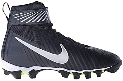 96b16162283c Nike Boy s Strike Shark (GS) Football Cleat Black Anthracite Metallic  Silver Size