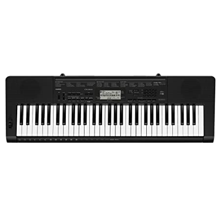 Casio CTK 3500 61 Key Portable Keyboard, Black Portable Keyboards