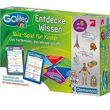 Galileo Kids Wissens Quiz Kinder Ab 6 Jahren 780 Fragen 7 Themen