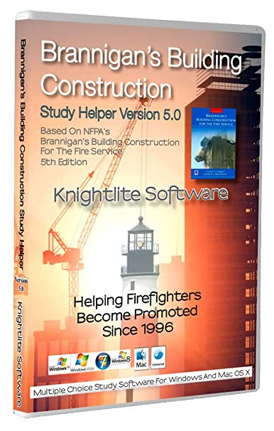 Brannigan's Building Construction For The Fire Service Study Software  Version 5 0 - Knightlite Win/Mac