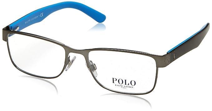 Ralph Lauren Polo 0PH1157, Monturas de Gafas para Hombre, Mat Gunmetal, 53