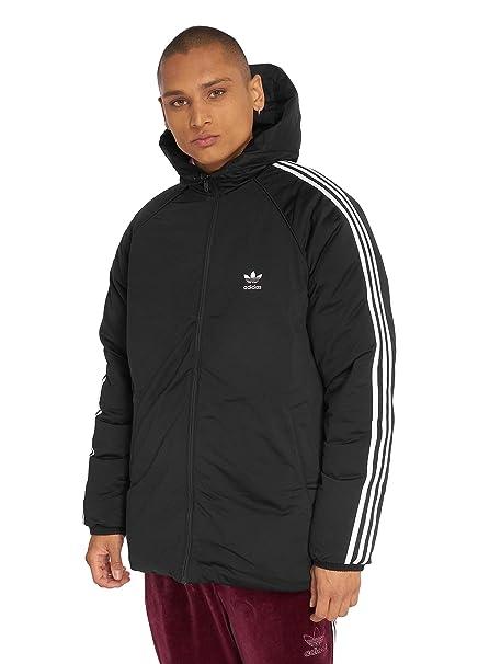 Neu adidas Originals Daunenjacke schwarz weiß Herren