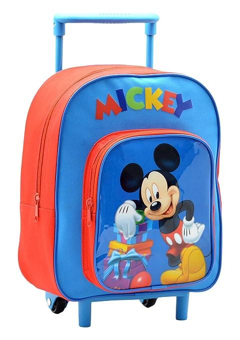 Disney Mickey Mouse AR632/17917 - Mochila Carro Capacidad 28 x 12 x 22 cm