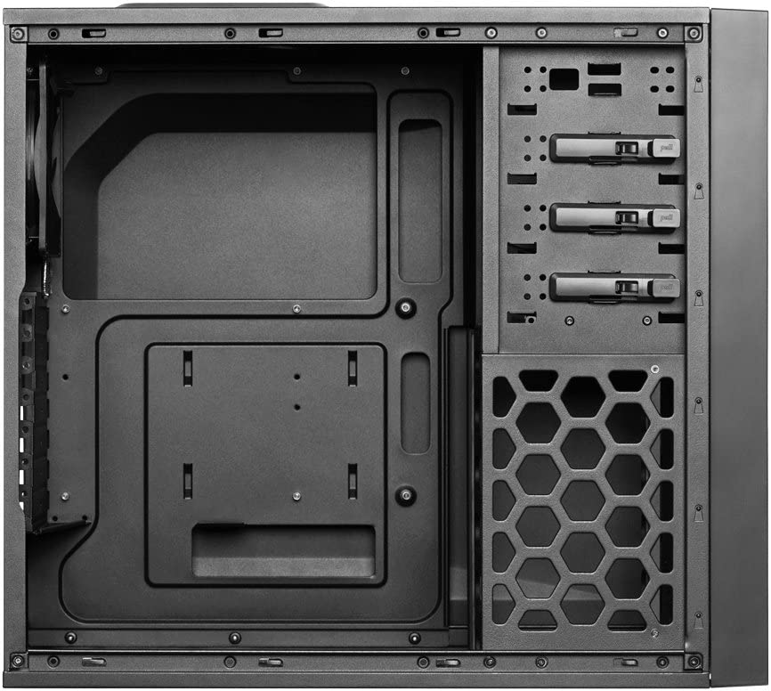 Antec P101 Silent Performance Series Mid-Tower PC Computer Case with Sound Dampening Panels 4 X 120//140mm Cooling Fans Pre-Installed