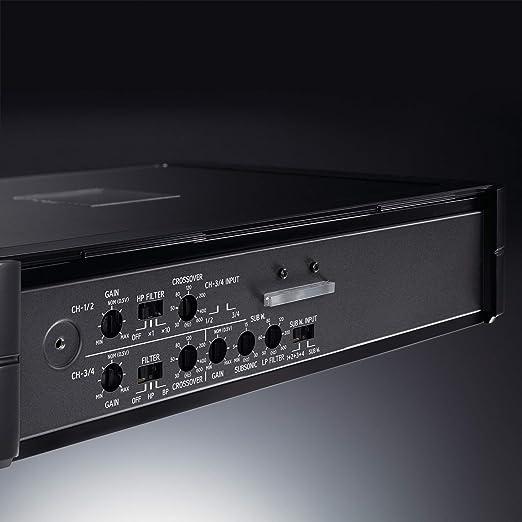 Alpine Electronics Pdx V9 Digital Verstärker Schwarz Auto