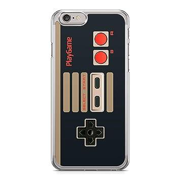 Funda Carcasa Mando Gamepad Consola para iPhone 5 5S Silicona Transparente TPU Flexible