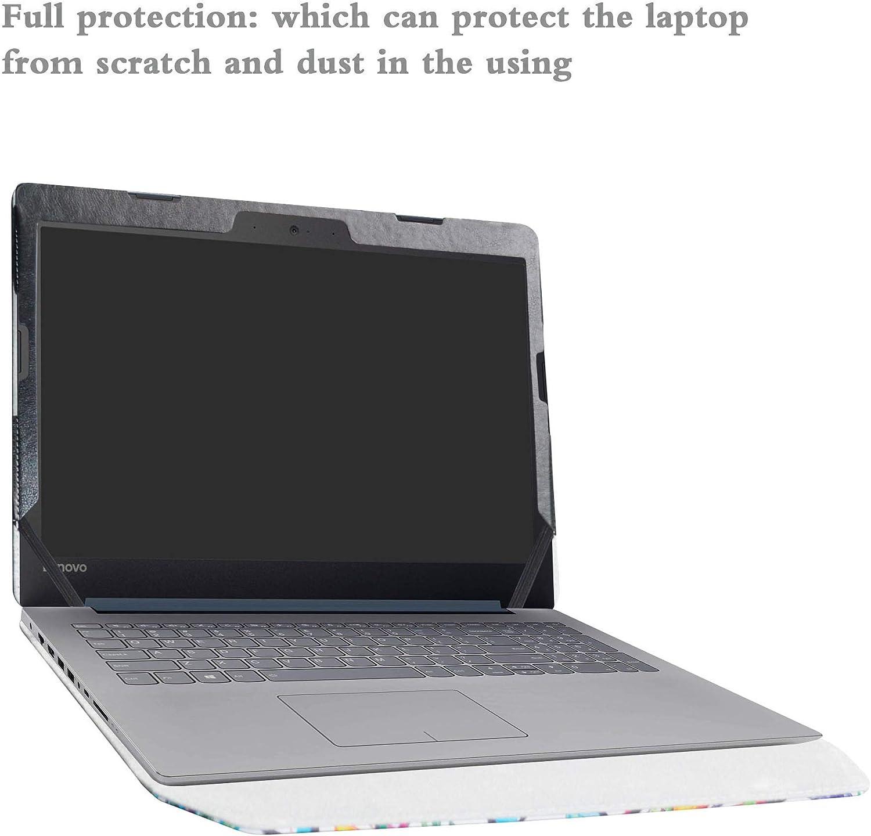 Alapmk Protective Case Cover For 14 Lenovo Ideapad 320s 14 320s-14ikb//Ideapad 520s 14 520s-14IKB Series Laptop,Love Tree