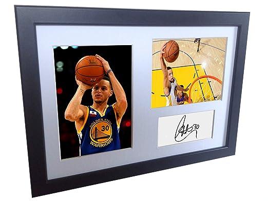 Kicks A4 firmado Stephen Curry Golden State Warriors autografiado ...