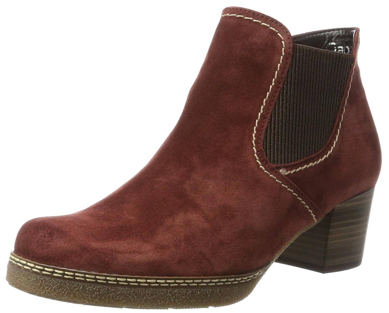 Gabor Damen Comfort Basic Stiefel  39 EU|Rot (38 Wine (S.n/A.ma/Mi))