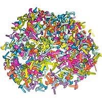 LIOOBO 100 Piezas Mini Brads Sujetadores para Fabricación