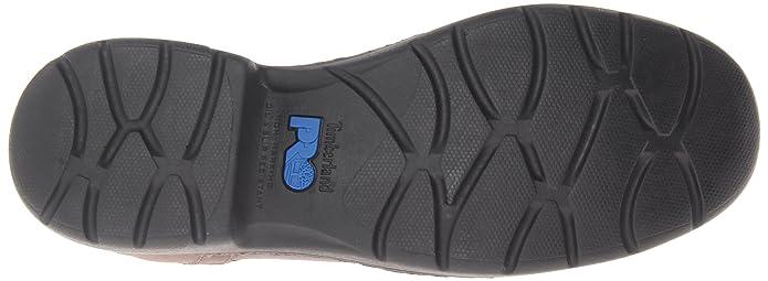 Chaussures Industrielles Et Stockdale Construcci¨®n Oxford Pointe Aleaci¨®n Cuir Noir Hommes Grains Entiers, Nous 10 M
