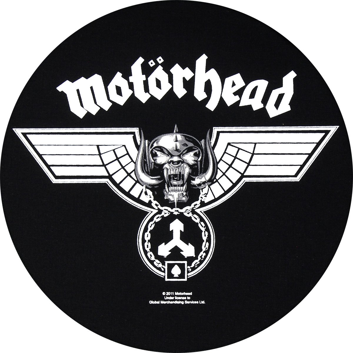 Schiena in gomma for-collectors-only martellato Back patch in gomma Motörhead