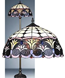 Spring Weeds Tiffany Floor Lamp