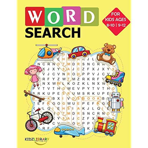 8.5x11 with Fun Themes! Word Search For Kids 50 Easy Large Print Word Find Puzzles for Kids Jumbo Word Search Puzzle Book