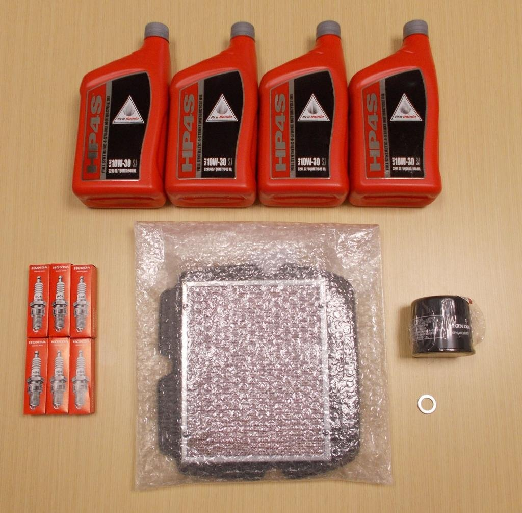New 2001-2014 Honda GL1800 Goldwing OE Complete Synthetic Oil Tune-Up Kit by Honda (Image #1)